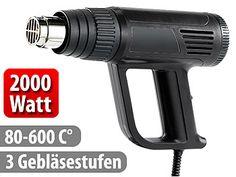 AGT Heißluftpistole mit 3 Gebläsestufen, 2000 Watt AGT  Bild 0