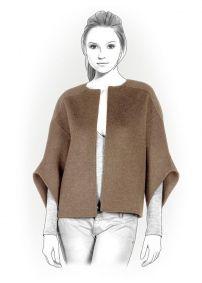 Lekala Sewing Patterns - WOMEN Coats Sewing Patterns Made to Measure and Royalty Free