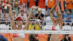 Le tandem de volleyball de plage féminin composé de Sarah Pavan et Heather Bansley a obtenu une deuxième victoire en...