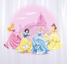 Cortina WC PVC WD Princesa Cast Tr. | Estampada | PVC | Cortinas de WC | Casa-banho |Disney | Marmair  http://www.marmair.pt/detalhe.php?p=4444