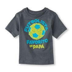 Short Sleeve 'Futbolista Favorito De Papá' Graphic Tee