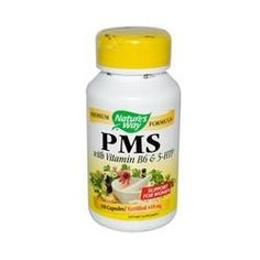 Nature's Way PMS with Vitamin B6 and 5-HTP (100 Capsules)