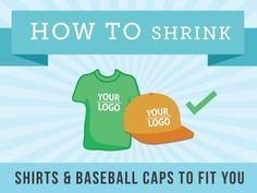 Who wants to wear a XL shirt when they typically wear a medium or large? Amy discovered some easy ways to shrink cotton shirts and baseball caps! Baseball Season, Baseball Mom, Baseball Caps, How To Shrink Clothes, Xl Shirt, Making Life Easier, Sports Mom, Cleaners Homemade, Clothing Hacks