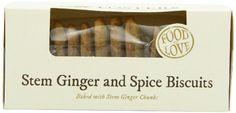 Fosters Stem Ginger and Spice Biscuits 200 g (Pack of 6)