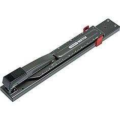 Stanley Bostitch® Long Reach Stapler Full Strip, 20 Sheet Capacity, Black