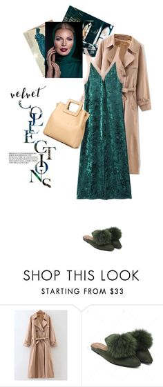 """""""Velvet on repeat"""" by stellina-from-the-italian-glam ❤ liked on Polyvore"""