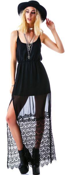 *Whimper. But it's so pretty.... - LR | Reverse Lacey Tendencies Slip Dress | Dolls Kill