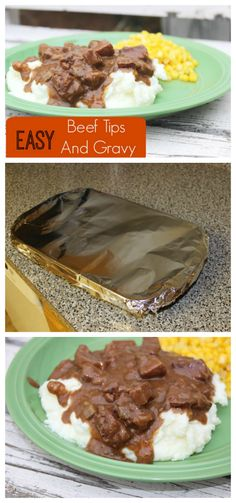 If you are looking for an easy beef tips and gravy recipe, look no further! You have come to the right place! Perfect for a weeknight dinner. Easy Beef Tips And Gravy Recipe, Beef Tips And Rice, Beef Tip Recipes, Beef Recipe Instant Pot, Easy Gravy, Stew Meat Recipes, Beef Recipes For Dinner, Oven Recipes, Steak And Gravy Recipe Oven