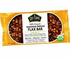 Stay Fuller Longer With These High-Fiber Foods: Flax Bars. It is a challenge to find a snack bar with plenty of fiber and no added sugar, but Go Raw's Banana Bread Flax Bar is a good choice: There's two grams of fiber per 70-calorie bar, just right for the 14-Day Slimdown's suggested snack. #SelfMagazine