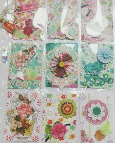 Pocket letter flower themed