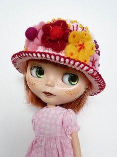 Blythe Hat Ready for Summer | Flickr - Photo Sharing!