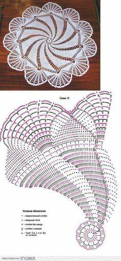 interesting doily pattern