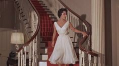I'd totes get married in this dress. Cat on a hot tin roof.