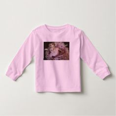 Toddler Girl Pink Ballerina - Long Sleeve T-Shirt