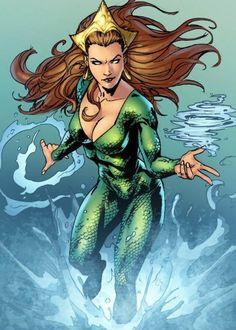 Mera ganha imagem no filme da Liga  Foi divulgada a primeira imagem da personagem Mera interpretada por Amber Heard no filme da Liga da Justiça. Veja mais no link!