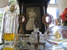 Old World Perfume Bottles