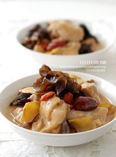 Sesame Chicken with Rice 麻油雞 ( 去骨雞肉版 ) | 小小米桶