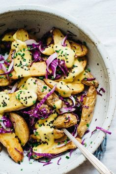 ... Roasted potato salads, Potato salad and Roasted fingerling potatoes