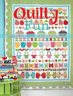 """Quilty Fun"" book by Lori Holt (from It's Sew Emma)"
