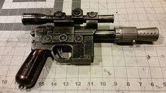 Premium Han Solo Blaster Pistol  Star Wars DL 44 by WulfgarWeapons