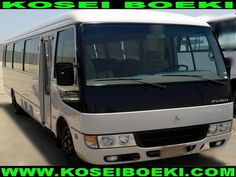 Export Japanese Used Bus Bus Rosa Bus ( Fuso Rosa 34 Seater Bus ) 2010 (1366) Vehicles Direct From Japan