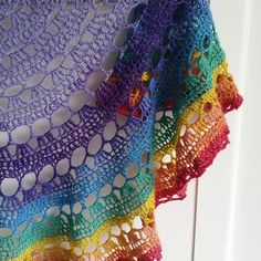 Show me your favourite shawl! This is one of mine. It's available from etsy now. Link in profile #ldjcrochethookup by undertherowantrees