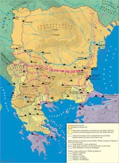 7000 years of history. Ro Old Europe & Kurgan History Page, History Facts, Historical Maps, Historical Pictures, History Of Romania, Map Of Britain, European History, 14th Century, Macedonia