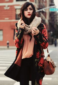 Apollo's Top 5 Pinterest Finds of the Week - N�14.  Floral jacket