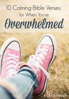 Calming Bible verses to soothe your soul when you're overwhelmed.