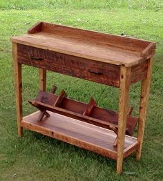 Reclaimed Wood Entry Table by The Rusted Nail  on Scoutmob Shoppe