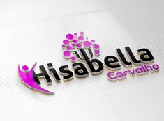 Diseño de logotipo para Hisabella Carvalho Enamel, Accessories, Design Logos, Design Web, Creativity, Vitreous Enamel, Enamels, Tooth Enamel, Glaze