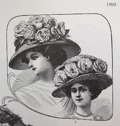 DIY tutorial on decorating your own Edwardian hat by Festive Attyre.