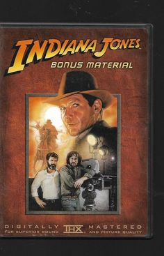 Indiana Jones Bonus Material Harrison Ford DVD