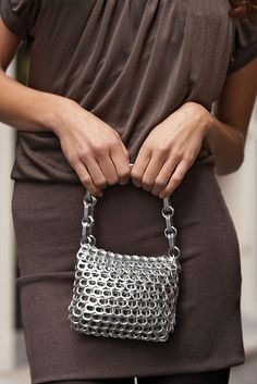 Recycled Pop Top purse Amelia from Escama Studio by escamastudio, via Flickr