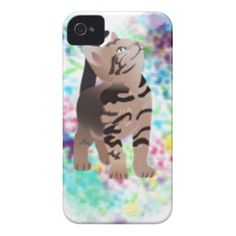 Sold today to a customer in spain....thank you...Kitty Heart Aqua gifts iPhone 4 Case-Mate Case