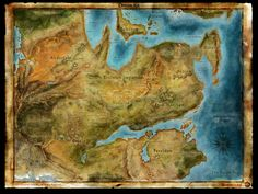 Dragon Age map