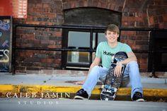 High School - Senior - Skateboard Boy