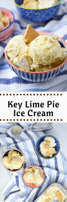 That Time I Had Too Many Limes and Was Craving Ice Cream: Key Lime Pie Ice Cream