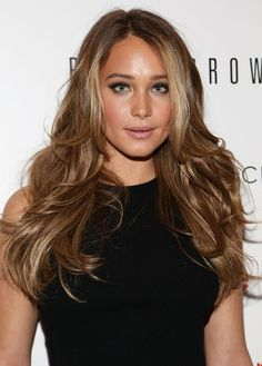 "LOVE her hair color! Perfect dirty blonde.  Hannah Davis - The Cinema Society & Bobbi Brown With InStyle Host A Screening Of ""The Other Woman"""