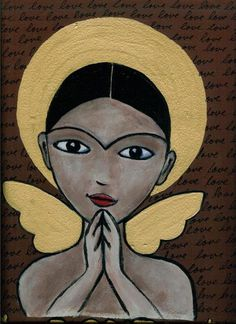 folk art angels - Bing Images