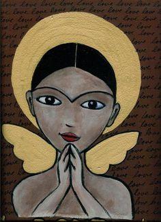 folk art angels - Bing Images
