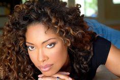 Natural beauty: Gina Torres