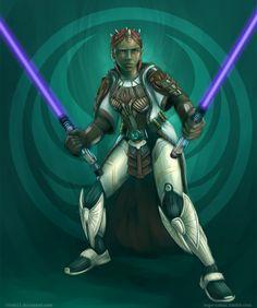 Jedi Sentinel by Vixen11