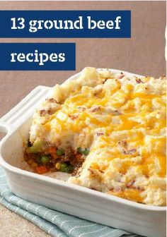 Shepherd's Pie – This version of a traditional shepherd's pie is made with better-for-you ingredients—like carrots, corn, and peas. Complete with extra-lean ground beef, sour cream, and KRAFT Natural (Paleo Pork Sour Cream) Kraft Recipes, Beef Recipes, Cooking Recipes, Kraft Foods, Beef Dishes, Food Dishes, Main Dishes, Shepherds Pie Recipe Healthy, Gourmet