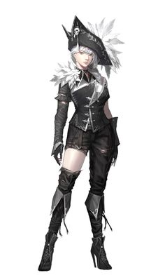Female Human Pirate Rogue - Pathfinder PFRPG DND D&D 3.5 5th ed d20 fantasy