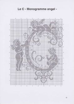 Вышиваем крестиком. МОНОГРАММЫ С АНГЕЛАМИ (6) (495x700, 167Kb)