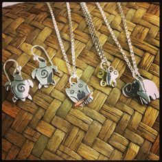 Far Fetched sterling silver jewelry with brass and copper accents. Handmade in Mexico. Far Fetched is a member of the Fair Trade Federation