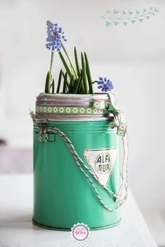 Mint, green, Syl loves, vintage, blue, retro