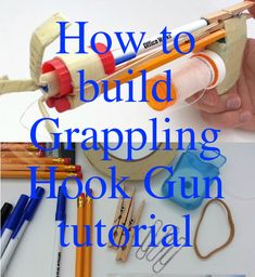 How to build Grappling Hook Gun tutorial, and more great guides to create various stuff for guys