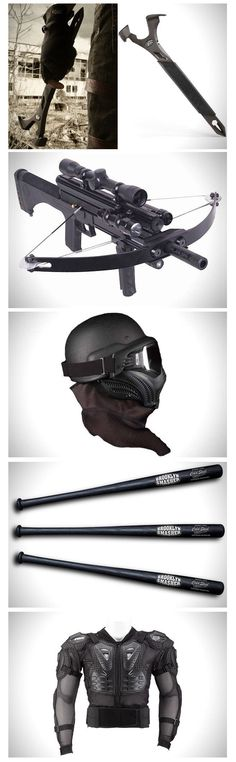 Zombie Weapons. [ Swordnarmory.com ] #Apocalypse #Zombies #swords